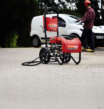 PETROL HIGH PRESSURE CLEANER LIFE