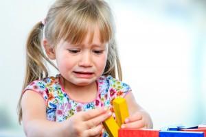Upset Little Girl Needs Dad to do DIY